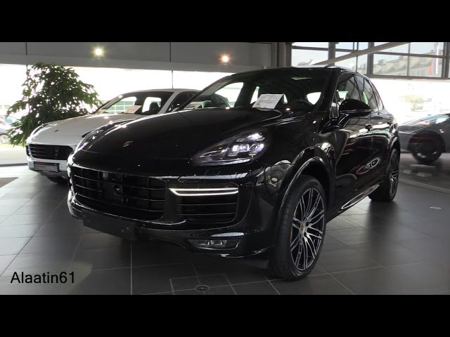 Porsche Cayenne TURBO S 2017 Start Up, In Depth Review ...
