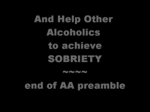 0 Alcoholics Anonymous | A Personal View | What Is AA To Me?