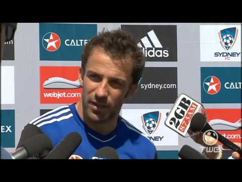 Alessandro Del Piero English Interview