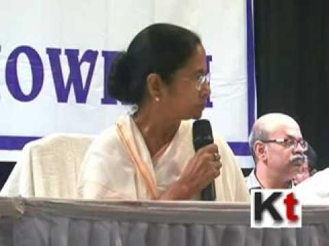 Mamata Banerjee speaking at the Howrah Administrative Meeting