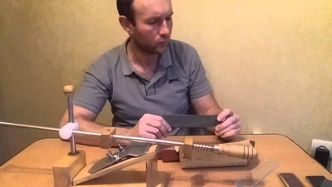 Точить ножи своими руками и размеры
