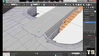 How To Model Guitar Fender Stratocaster in 3ds Max Part (2/8) 2014 HD