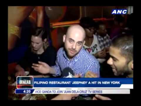 Filipino restaurant Jeepney a hit in New York