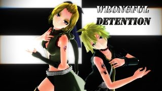 【MMD】Wrongful Detention - Kagamine Rin & Len