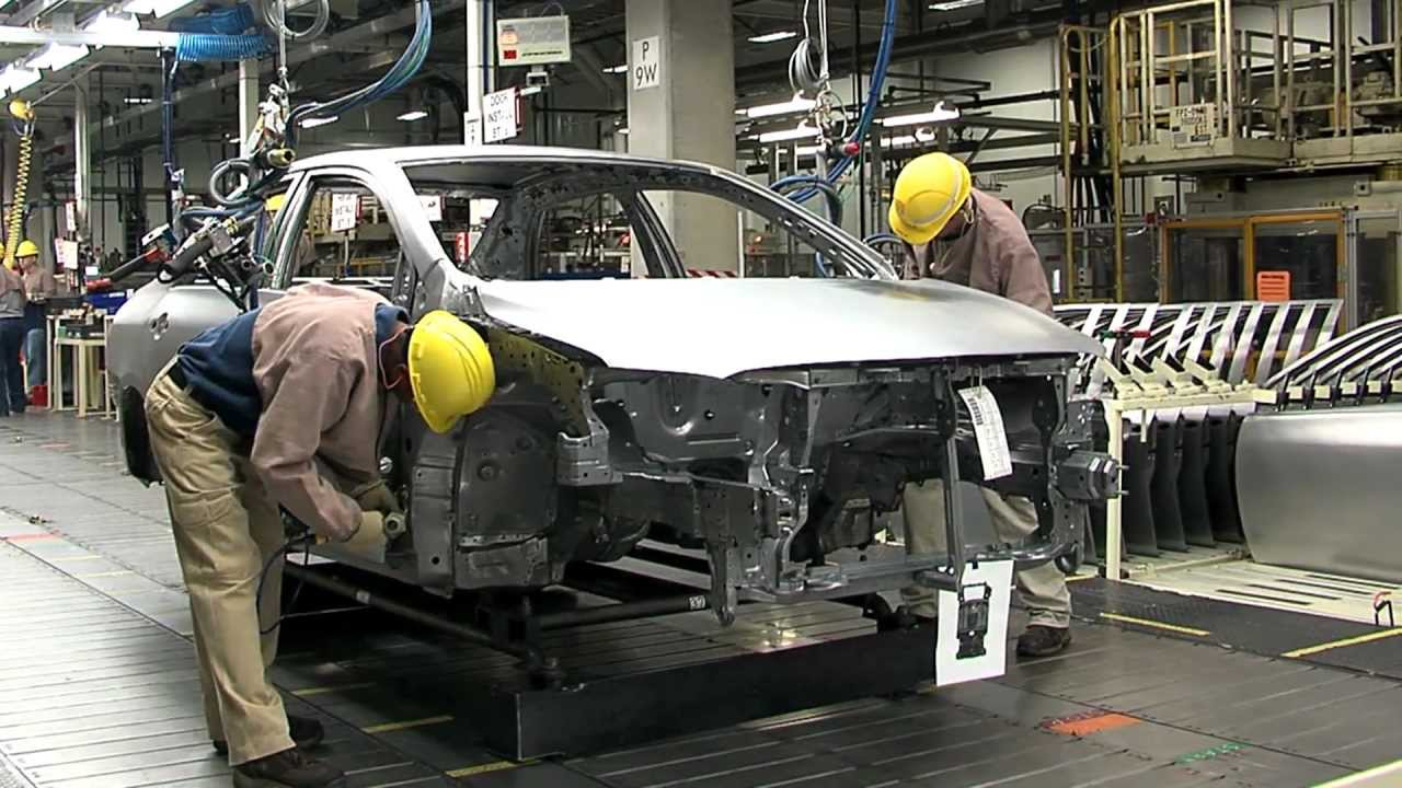 Toyota Factory In Mississippi Usa Automototv Youtube
