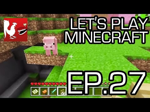 Let's Play Minecraft Episode 27 - Mounted Combat