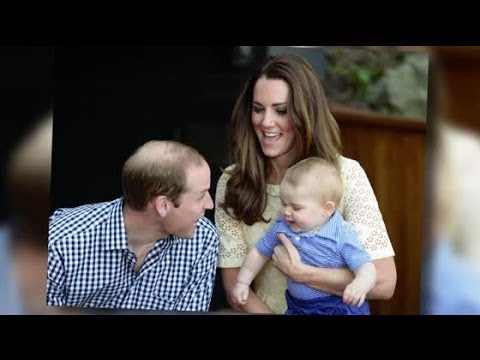 Kate and Will Celebrate Prince George's First Easter | Splash News TV | Splash News TV