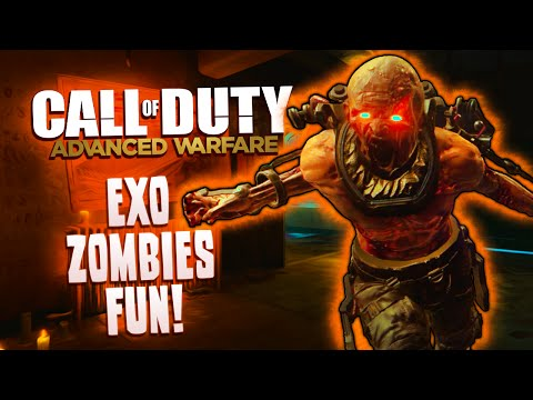 Exo-zombies Fun! - Cod Advanced Warfare - Shane's Baby! Scary Dogs, Mission Impossible And More! video