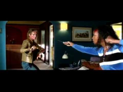 Kill Bill - crazy red eyes - opening fight scene