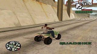 Grand Theft Auto: San Andreas - (Quad Bike) - Police Chase My Quad Bike