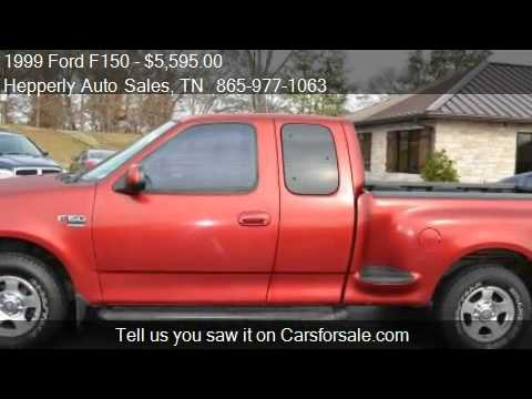 Maryville Auto Sales >> 1999 Ford F150 XLT SuperCab Flareside 2WD - for sale in Mary - YouTube