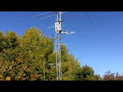 My Antenna Farm In The Fall Season