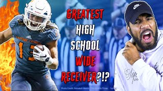 THE BEST HIGH SCHOOL WIDE RECEIVER I'VE EVER SEEN!!! I Sharpe Sports