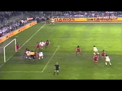 1/4 КЕЧ 1990/1991 Реал-Спартак Москва 1-3