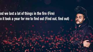 Gesaffelstein the Weeknd Lost in the Fire Lyric video