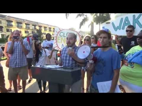 People's Climate March   Tampa Oct.14, 2015