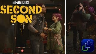 inFAMOUS: Second Son PS4 Walkthrough - Delsin and Fetch Romance Both outcomes