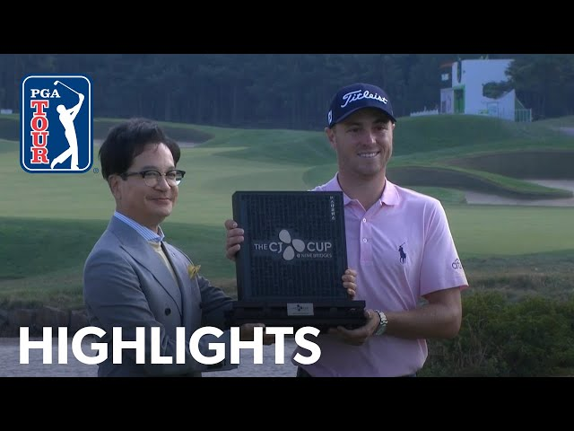 Highlights  Round 4  THE CJ CUP 2019