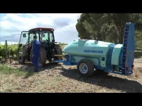 BERTHOUD FRUCTAIR - Pulvérisateur tracté pour la vigne et les arbres - Voûte AIRLINE - FR