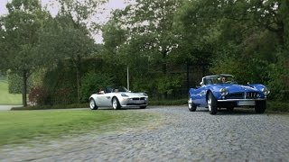AIR MOVIE SERVICE - BMW Roadster 507 & Z8 - Father & Son