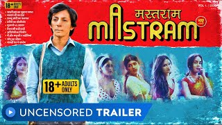 Mastram - Web Series | Uncensored Trailer | Rated 18+ | Anshuman Jha | MX Player