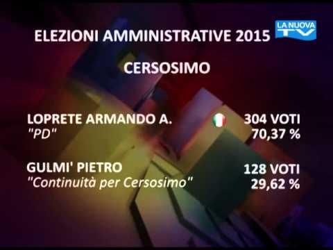 """Servizio la nuova TG """"Comunali Potenza"""" 01-06-2015"""
