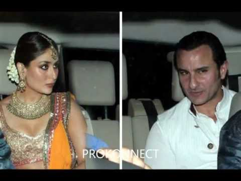 Kareena Kapoor & Saif Ali Khan Sangeet Ceremony Video