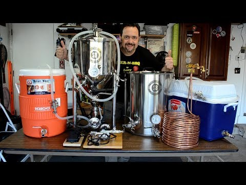 My 10 Gallon Brewery: Overview & First Brew Day