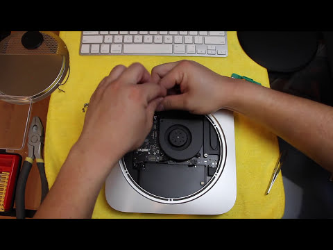 Upgrading New 2014 Mac Mini (Solid State HD)