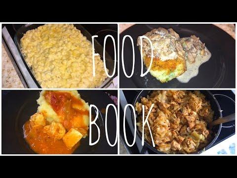 FOOD BOOK 4️⃣ Что я готовлю своей семье