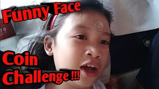 Funny Face Coin Challenge 🤪😜🙉