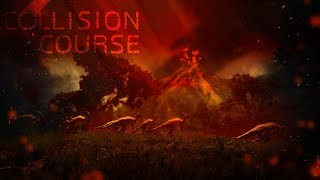 NEW VOLCANIC ERUPTION SCARES DINOSAUR HERD!! - Collision Course Gameplay Update & New Dino!