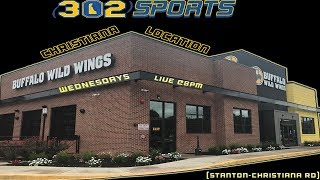 302 Sports Weekly Week 27 LIVE from Buffalo Wild Wings Christiana
