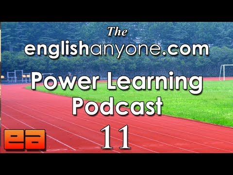 The Power Learning Podcast – 11 – Building Your English Fluency Team