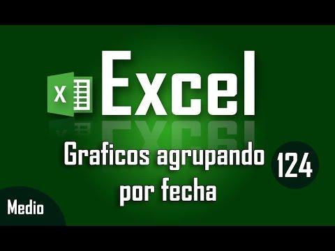 Curso de Excel: Graficos en Excel con agrupacion de fechas