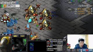스타1 StarCraft Remastered 1:1 (FPVOD) Sharp 조기석 (T) vs Gz_HaveNoHands (P) Benzene 벤젠