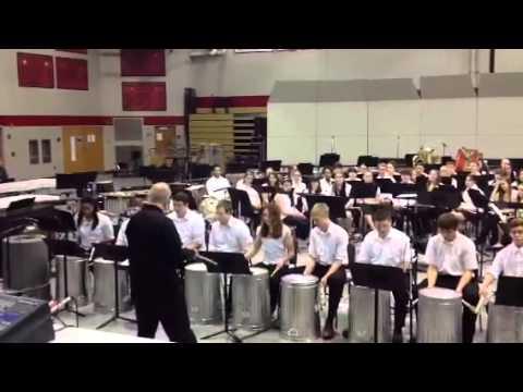 Schuylkill Valley High School Trash Can Drummers