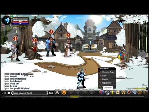 AQWorlds Legendary/ULTRA Elemental Warrior Class BEST Review and Enhancements