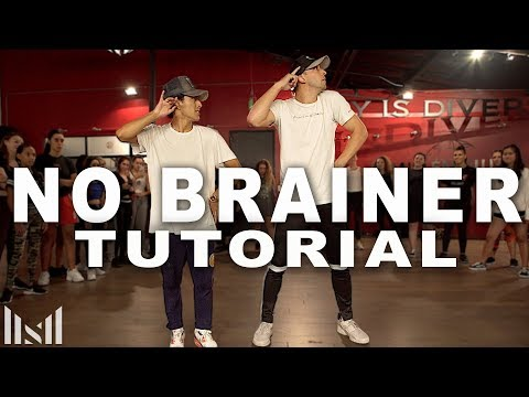 NO BRAINER - Justin Bieber & Chance The Rapper Dance Tutorial   Matt Steffanina Choreography