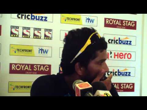 1st Test, Day One Post Match Press Conference - India in Sri Lanka 2015