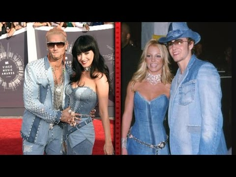Katy Perry Pulls a Britney at VMAs with Denim Dress
