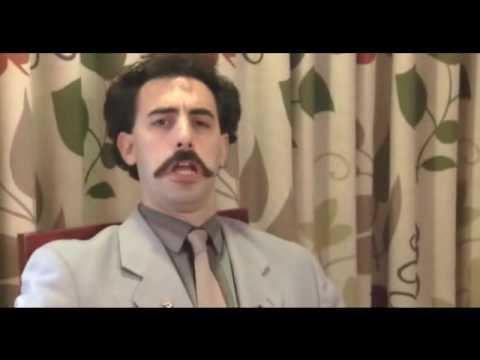 Borat - King in the castle
