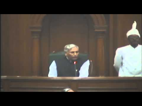 BJP MLA's bullied in Delhi Vidhansabha 2015