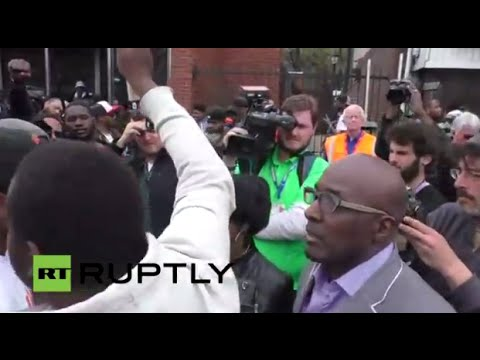 LIVE - Police Officers Charged in Death of Freddie Gray: Baltimore reactions