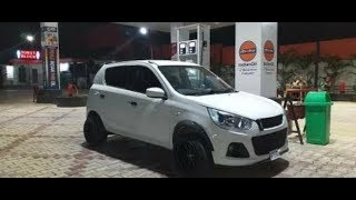 Modified alto k10. Spent 1.72 k on this car.Must see!!