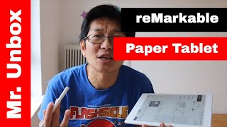 reMarkable Paper Tablet - The best e-ink Paper tablet of 2017