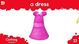 Clothing Vocabulary (Từ vựng về quần áo) Tên các loại quần áo trong tiếng Anh-Learn English for kids