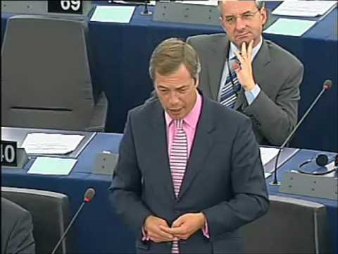 Nigel Farage flags Barroso over Lisbon treaty