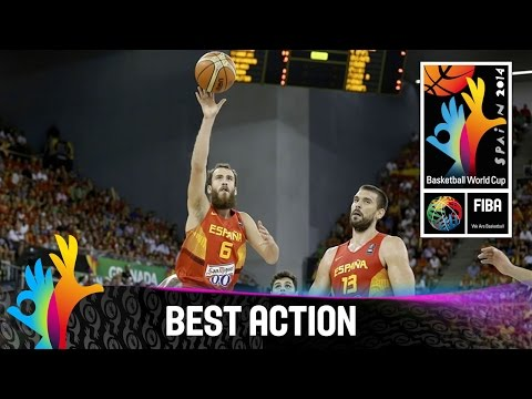 Brazil v Spain - Best Action - 2014 FIBA Basketball World Cup