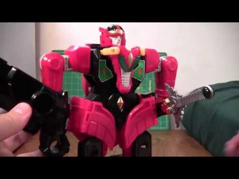 Mighty Morphing Power Rangers Thunder Megazord Review